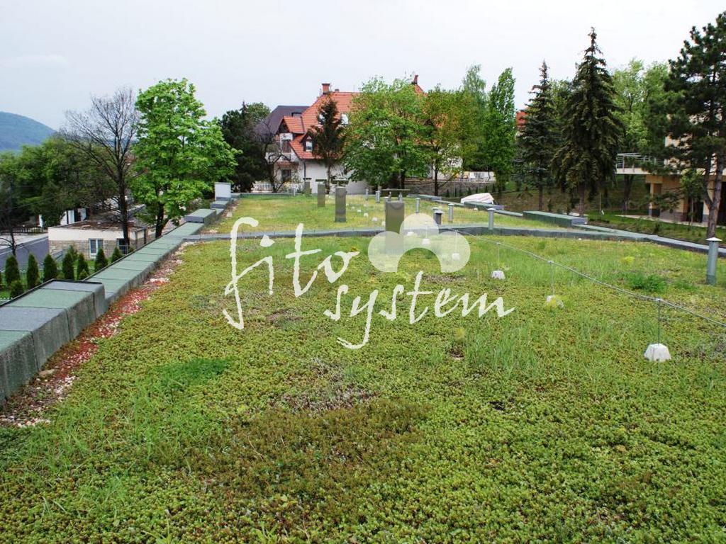 Budapest Lakópark - Fito System - extenzív zöldtető
