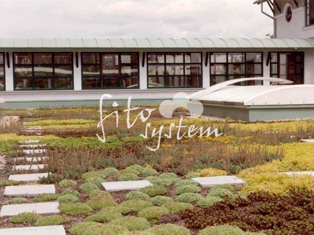 Budapest Távszolgáltató - Fito System - extenzív zöldtető